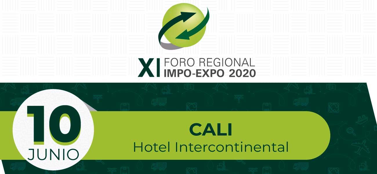 XI Foro Regional Impo-Expo 2020