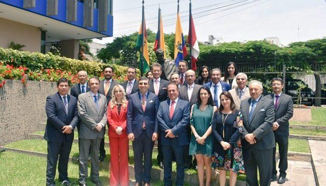 Sector empresarial contribuye a integrar países de la Comunidad Andina