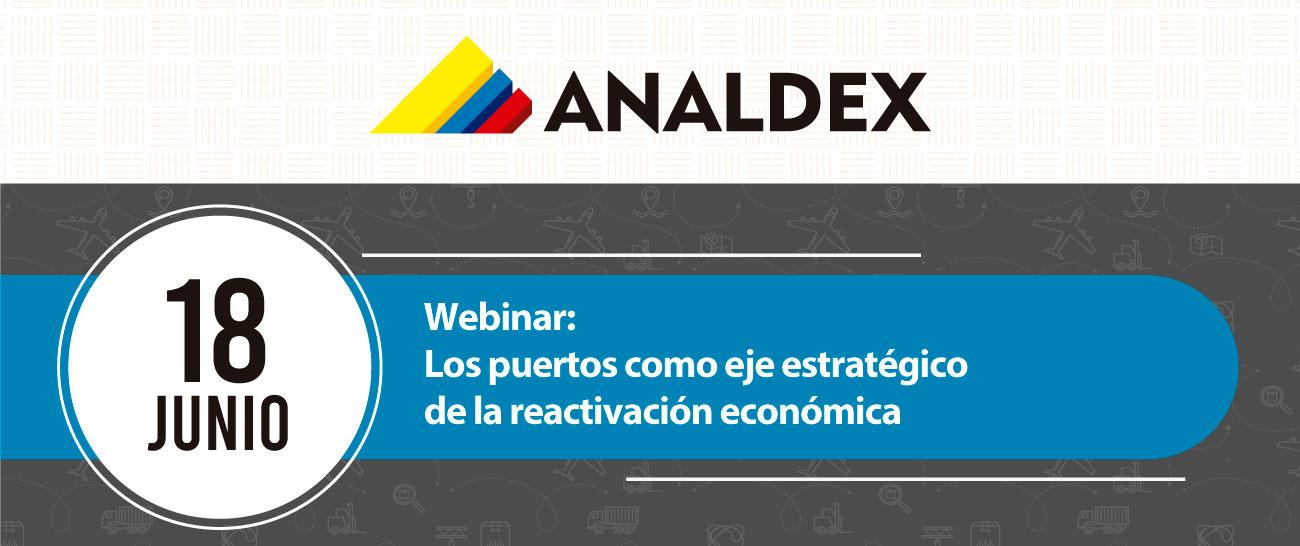 Webinar: Los puertos como eje estratégico de la reactivación económica