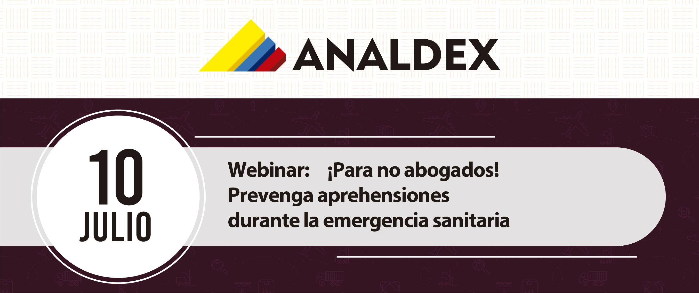 Webinar: ¡Para no abogados! Prevenga aprehensiones durante la emergencia sanitaria