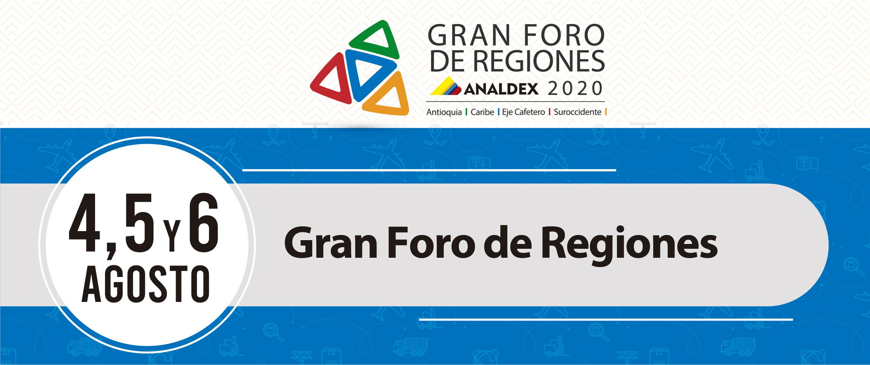 Gran Foro de Regiones