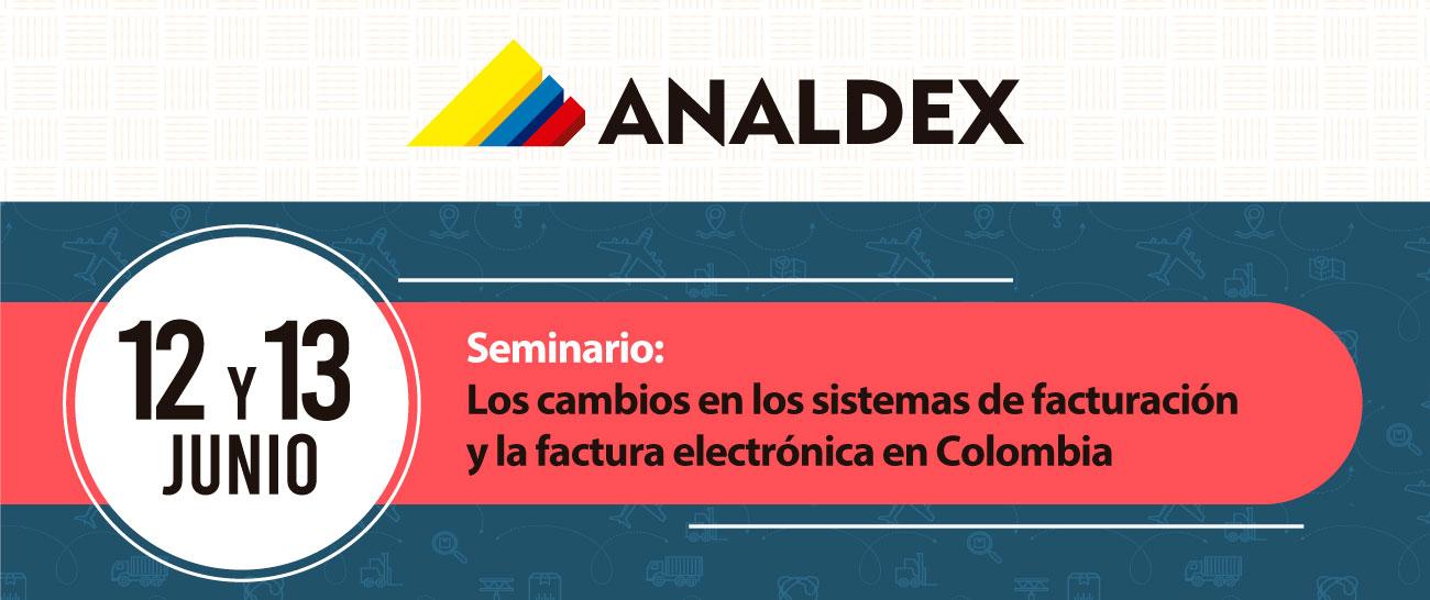 Seminario: Los cambios en los sistemas de facturación y la factura electrónica en Colombia