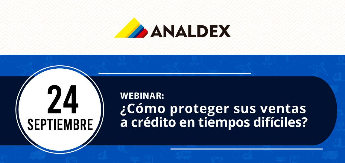 Webinar: ¿Cómo proteger sus ventas a crédito en tiempos difíciles?