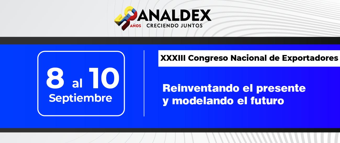 XXXIII Congreso Nacional de Exportadores